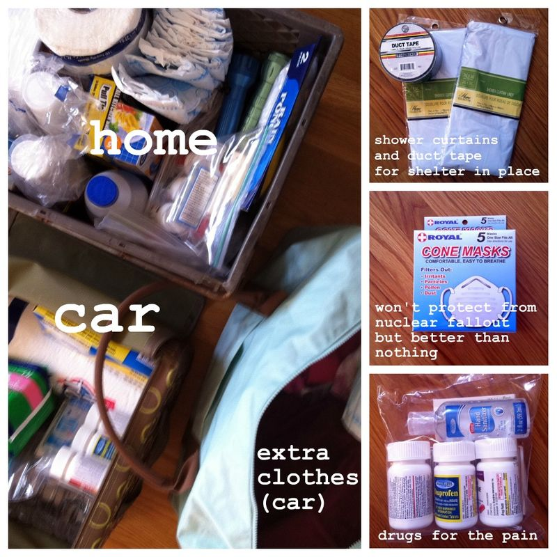 Emergency kit 1