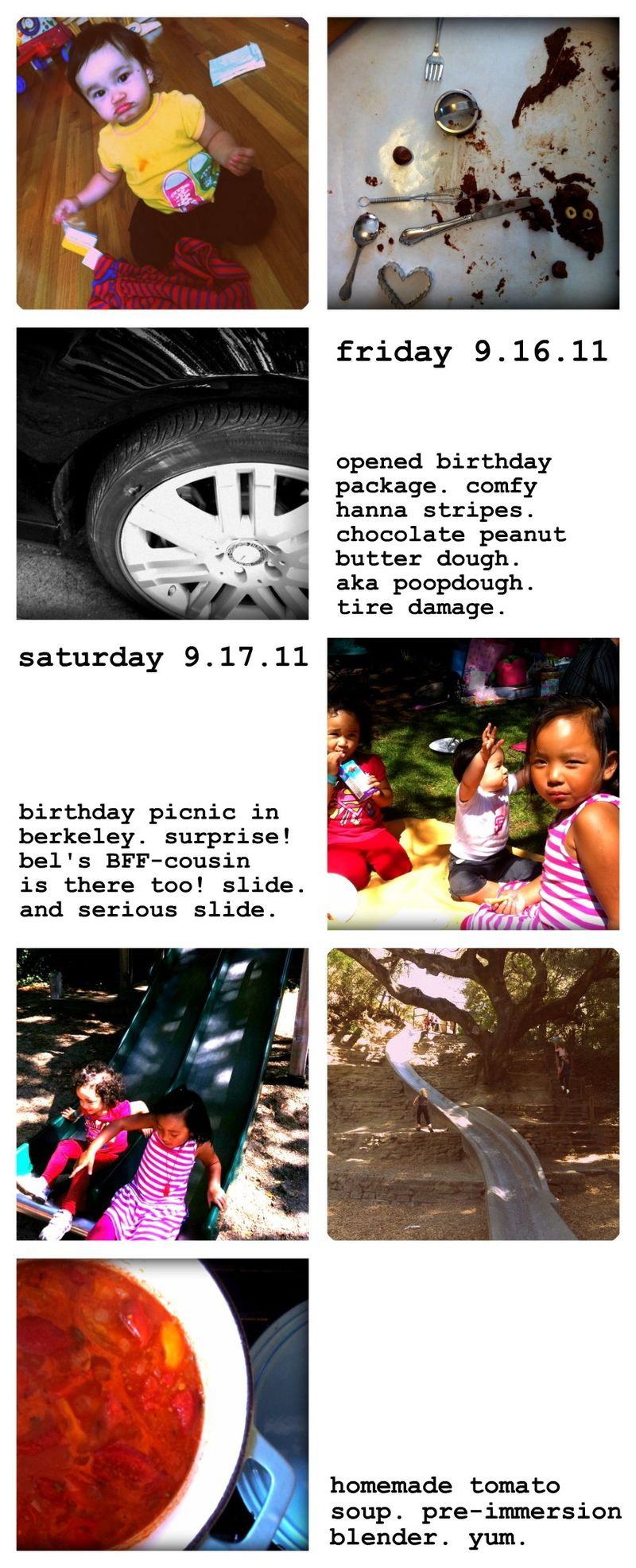 Weekend collage 9.16.11