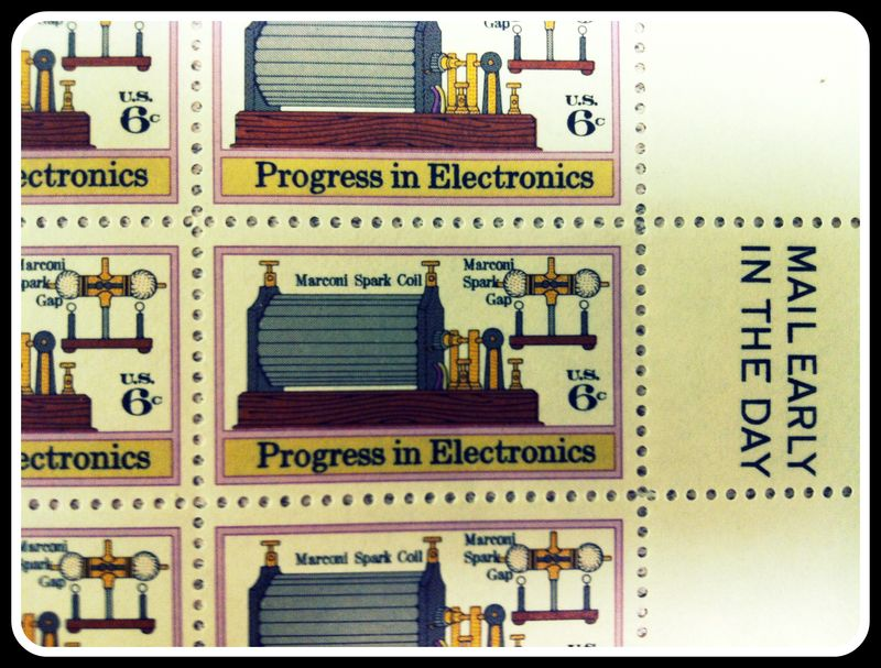 Progress stamp