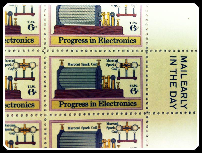 Progress stamp